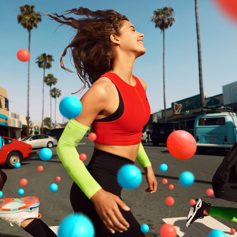 Angelina Yasmeen for the Nike Joyride Flyknit Campaign