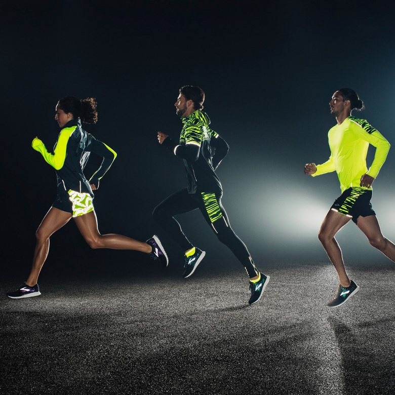 Tommy Meyer, Morgan Pope, and Mathias Aguon x Brooks Running
