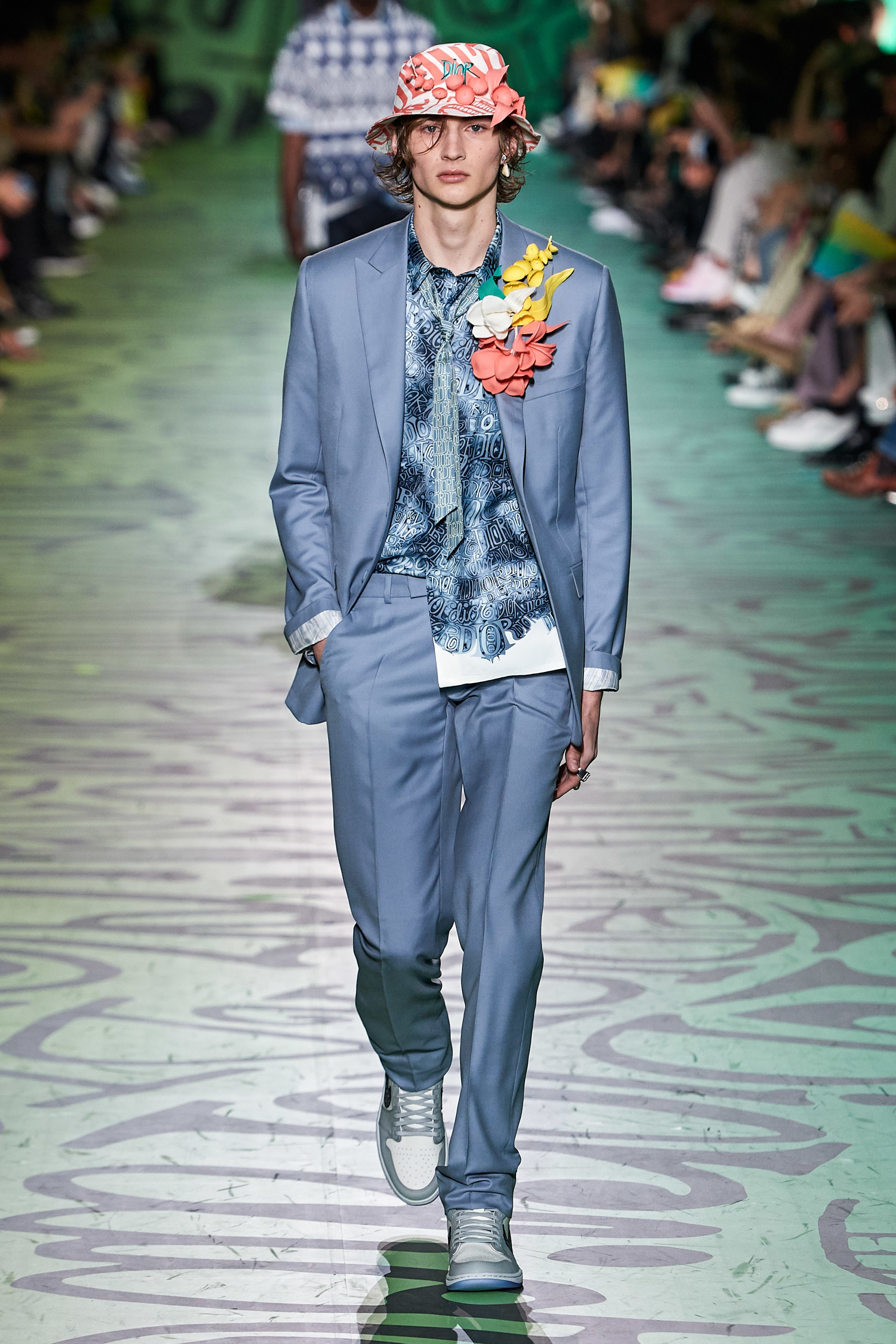 Robbie Lyons walks Dior FW20 in Miami