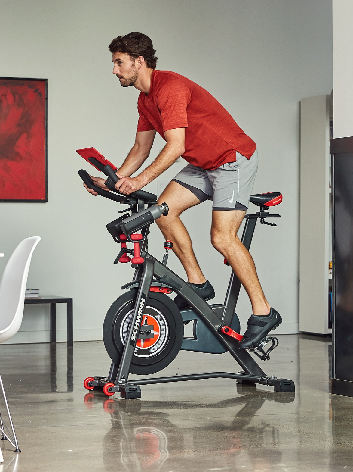 Emily and Tommy Train with Schwinn
