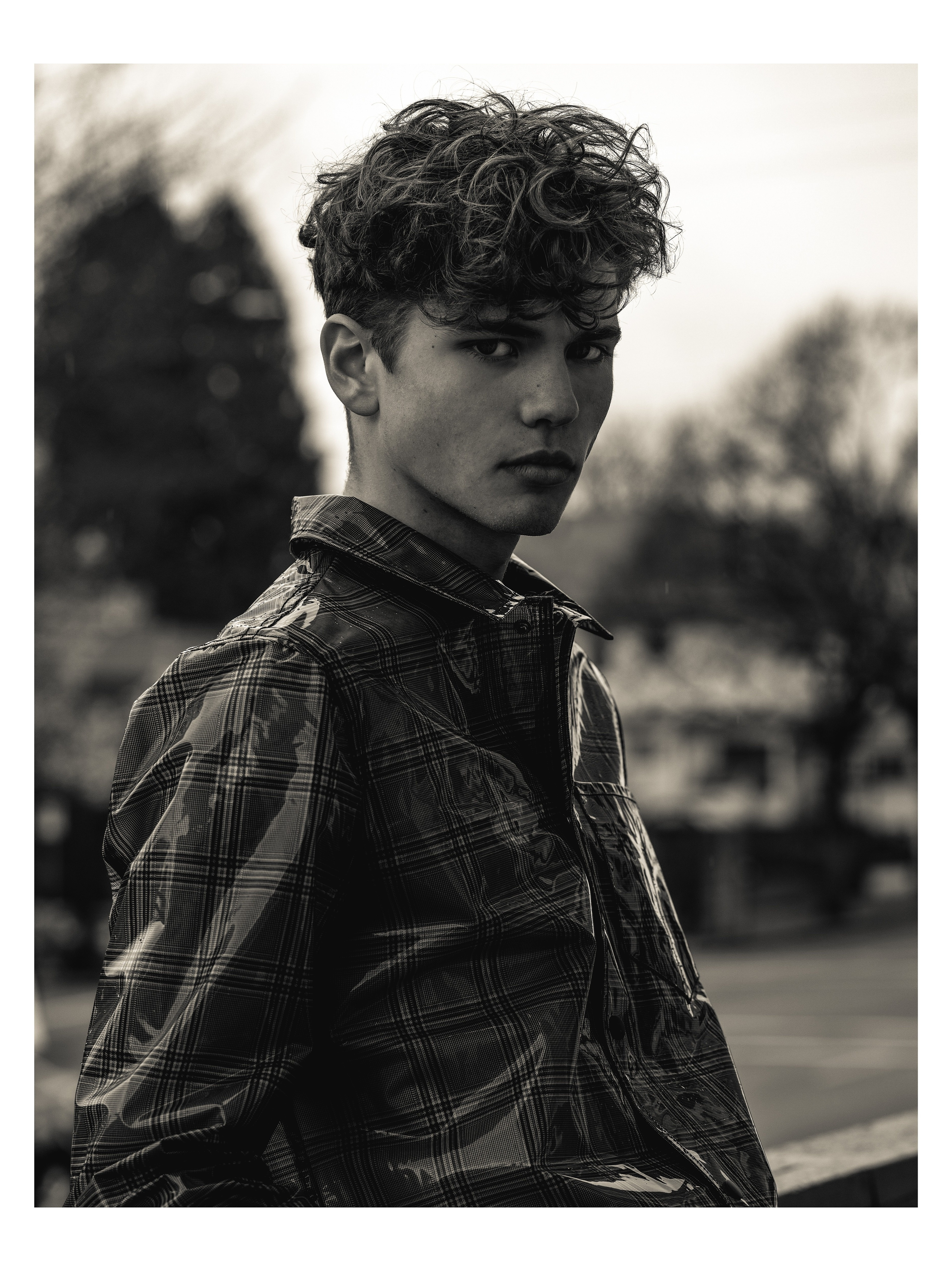 Zech Hinds for Lucy's Magazine by Eluvier Acosta