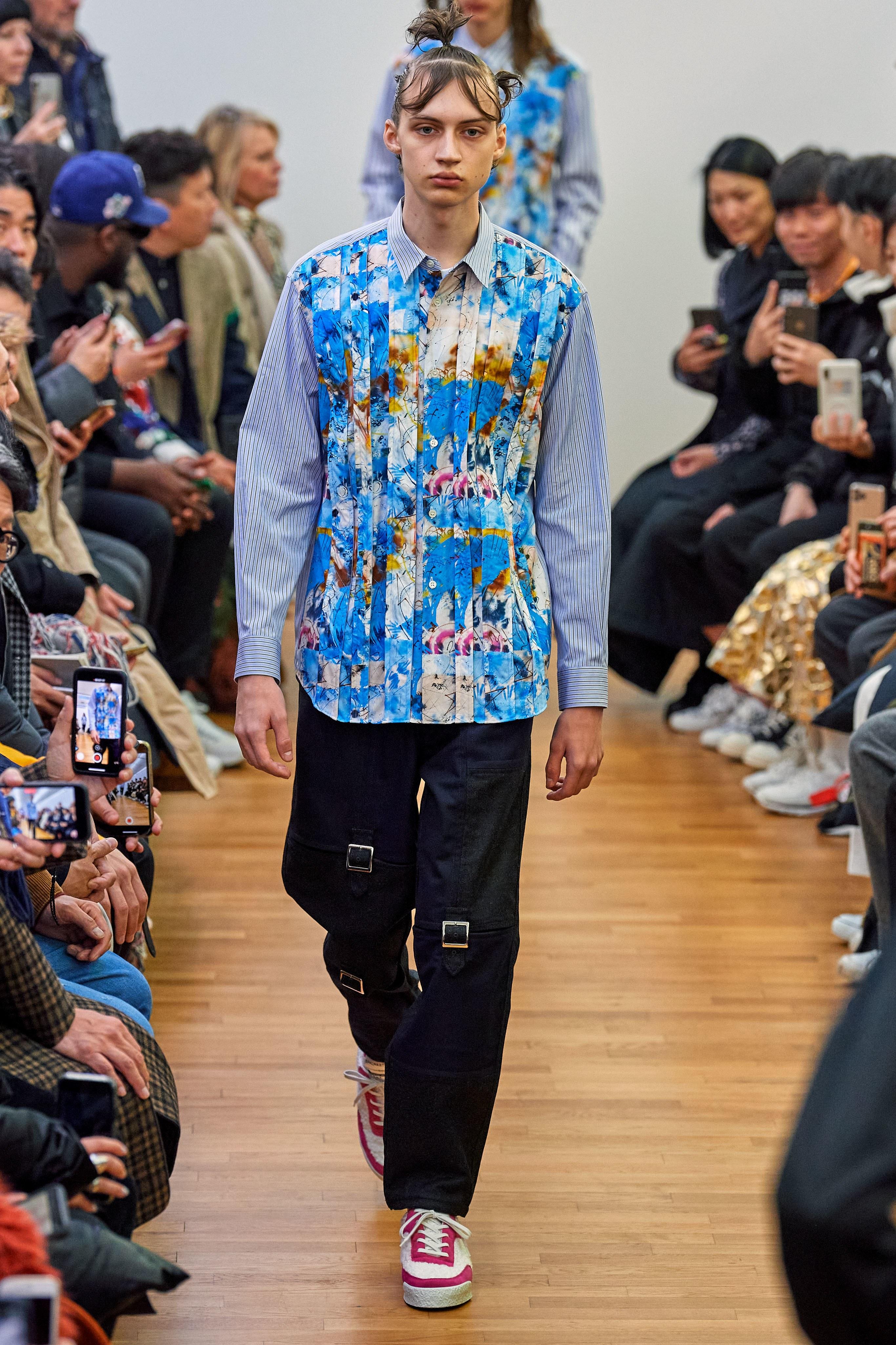 Comme des Garcons Shirt - Fall/Winter 2020.21 show in Paris