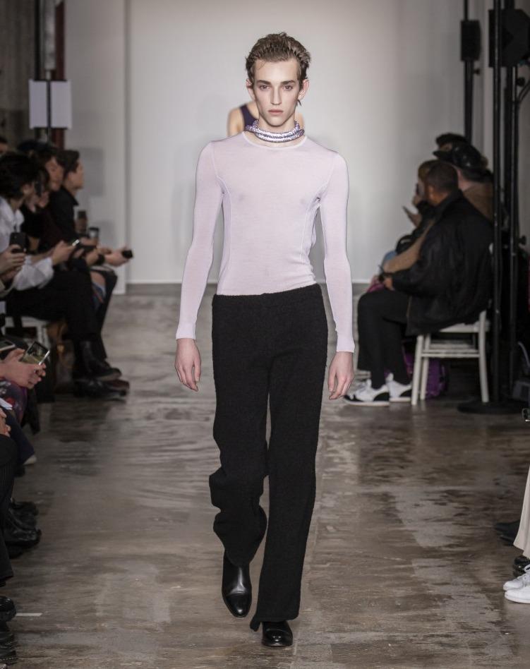 Ludovic de Saint Sernin - Fall/Winter 2020.21 show in Paris
