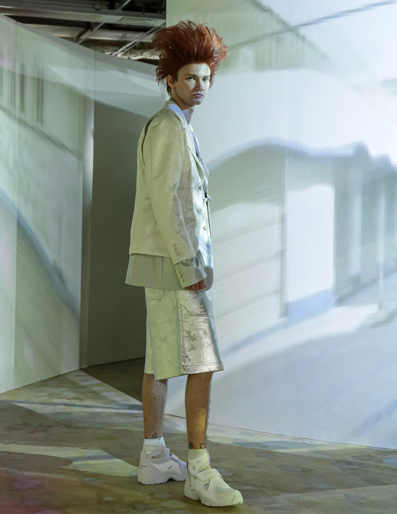 Comme des Garcons Homme Plus - Spring/Summer 2021 show in Tokyo