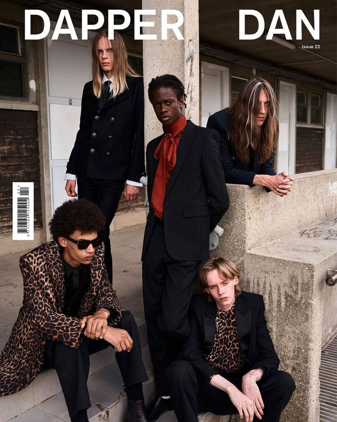 Dapper Dan Magazine - Saint Laurent special cover story
