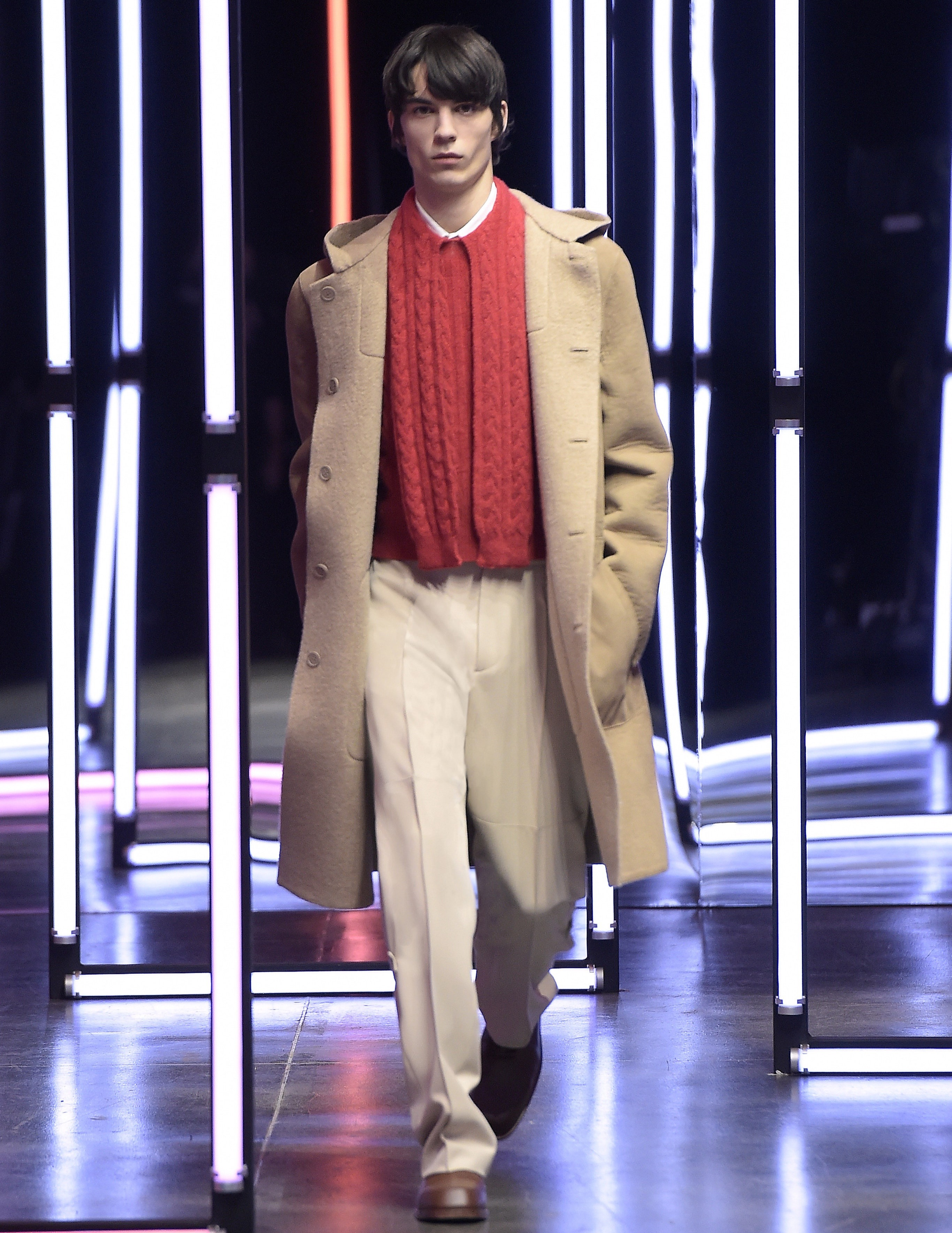 Fendi FW21 show in Milan