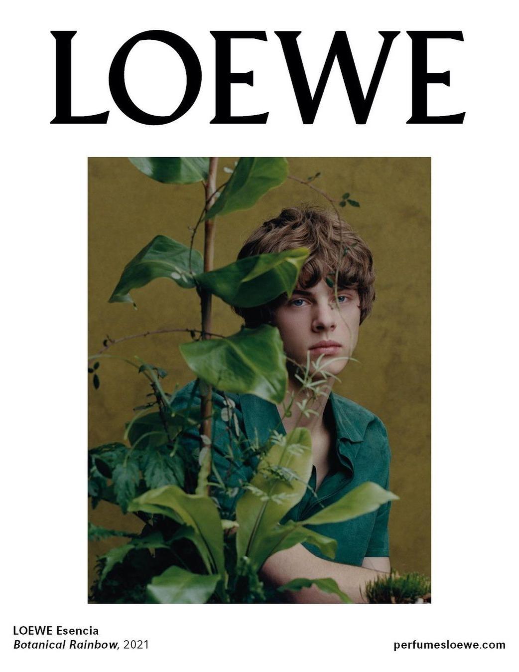 Loewe Perfumes - Botanical Rainbow Campaign