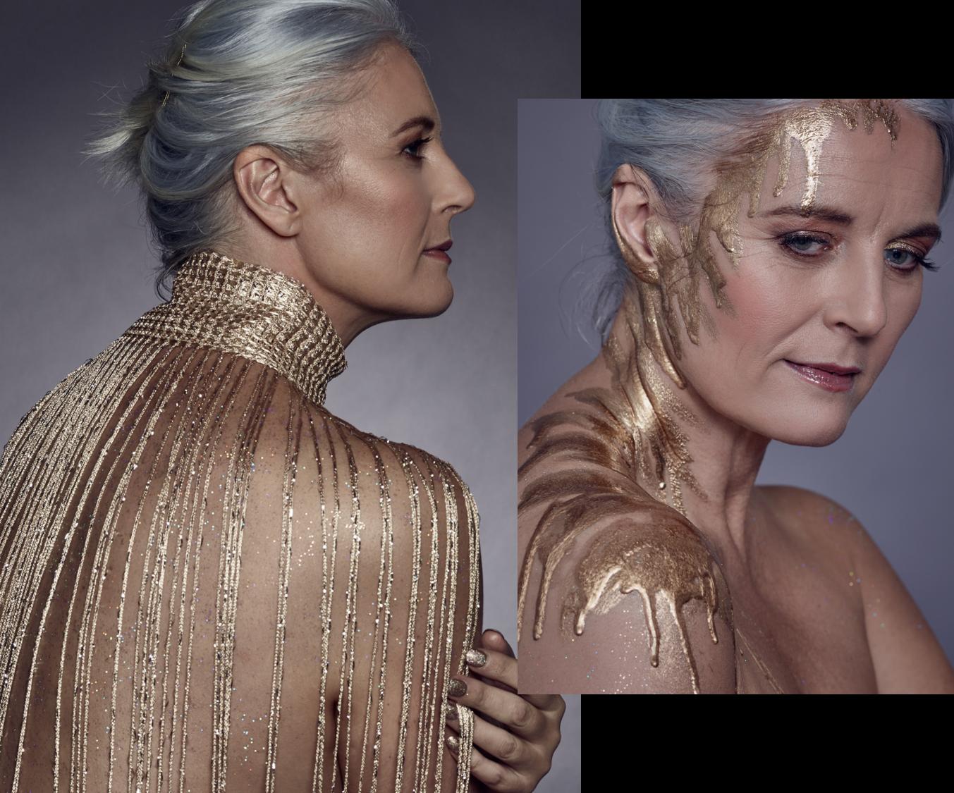Rachel Peru female curve model shoots for Goldie Magazine Bridge Models London
