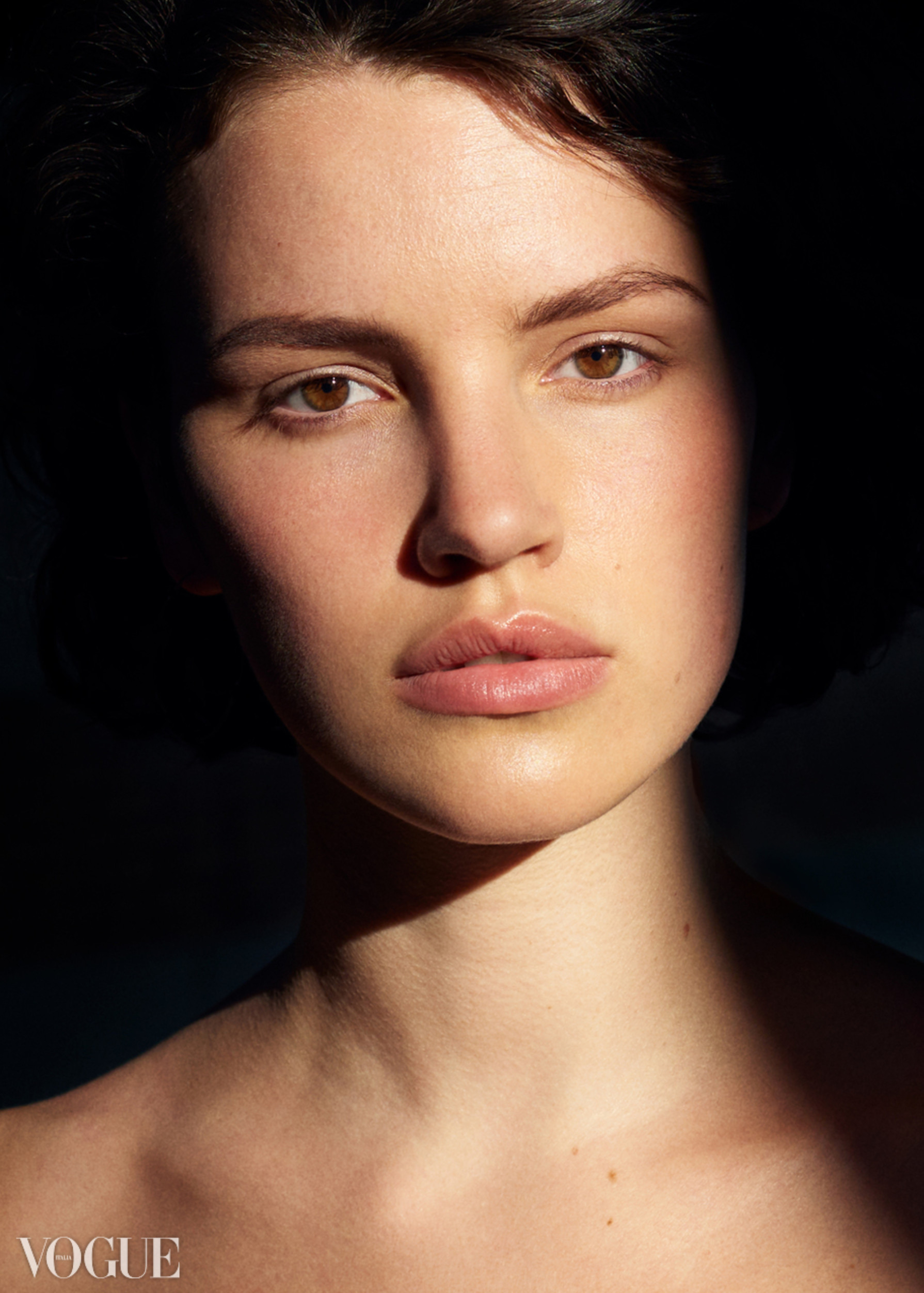 BRIDGE Model's Lina Florine shoots for Vogue Italia