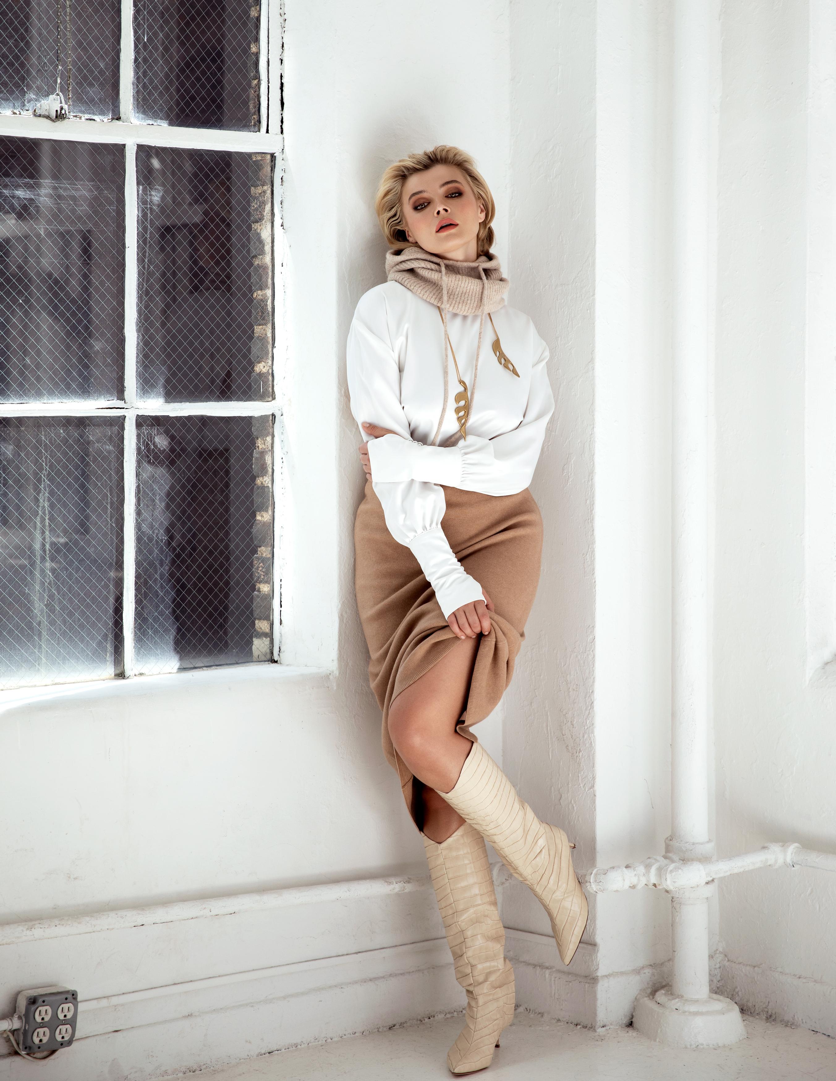 Khrystyana female model Glamour Hungary photoshoot for Bridge Models London