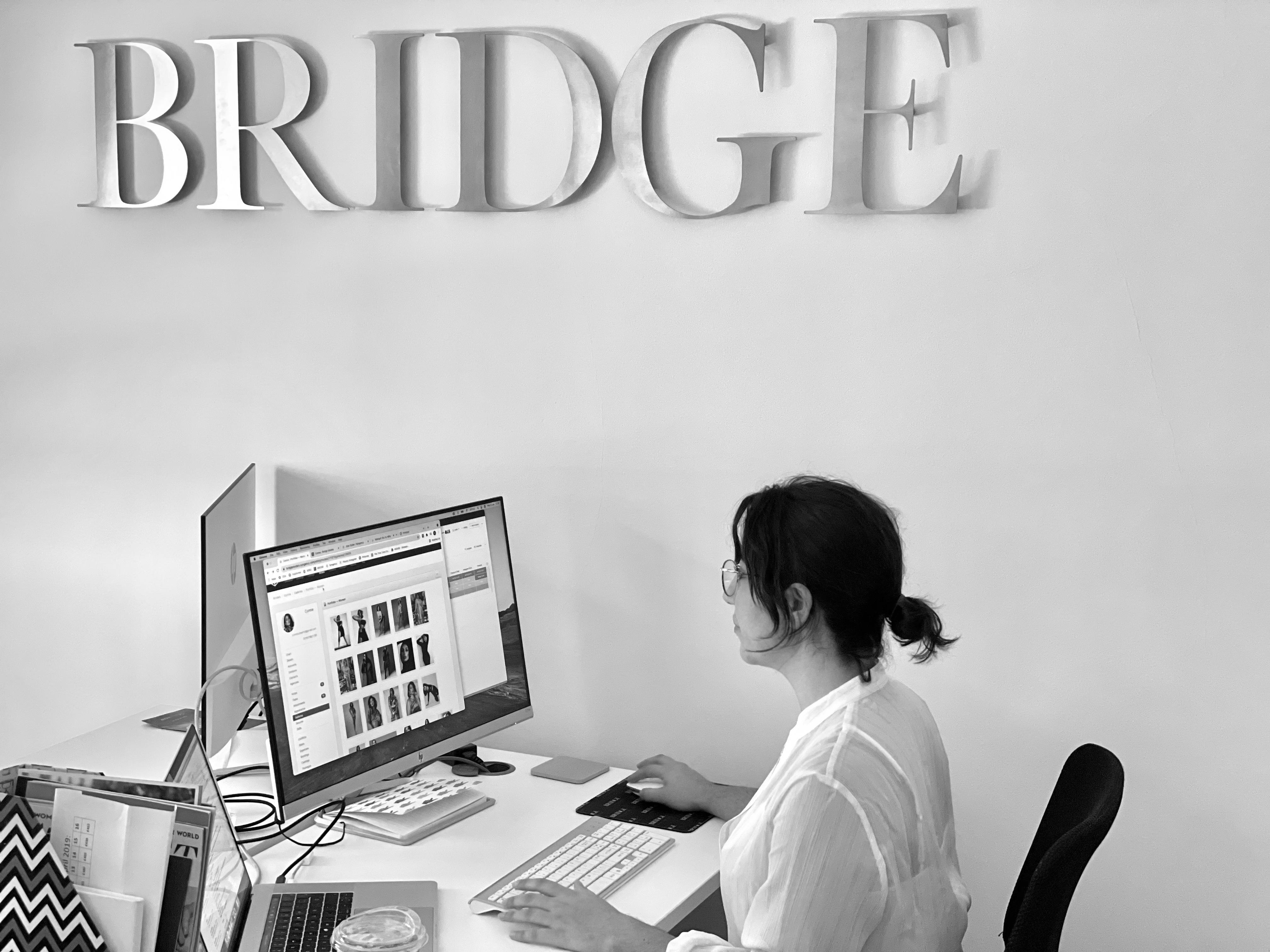Mariam Gomez working in the BRIDGE Models Office