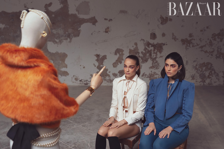 BRIDGE Models Anna Agrelo features in Hapers Bazaar Vietnam