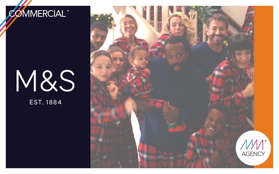 #commercial   Marks and Spencers 'Go Pyjamas' Christmas Campaign X Odd London