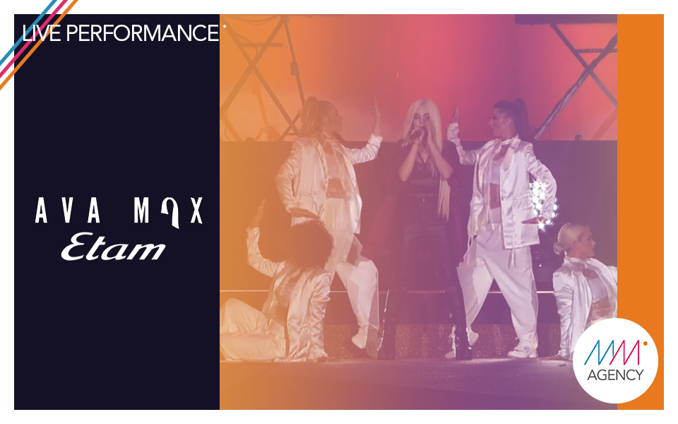 #liveperformance | Ava Max - Etam Event X Mass Movement Management