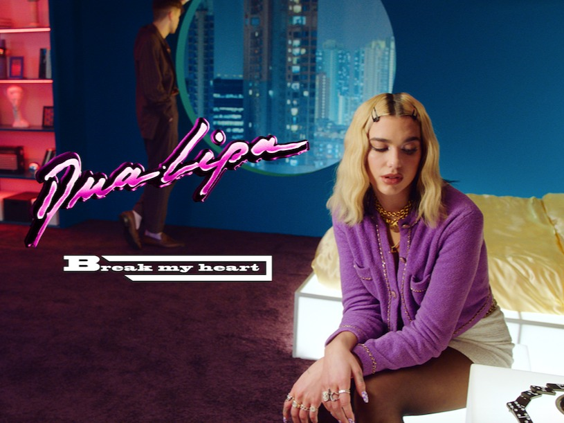 Dua Lipa - 'Break My Heart' X Caviar TV