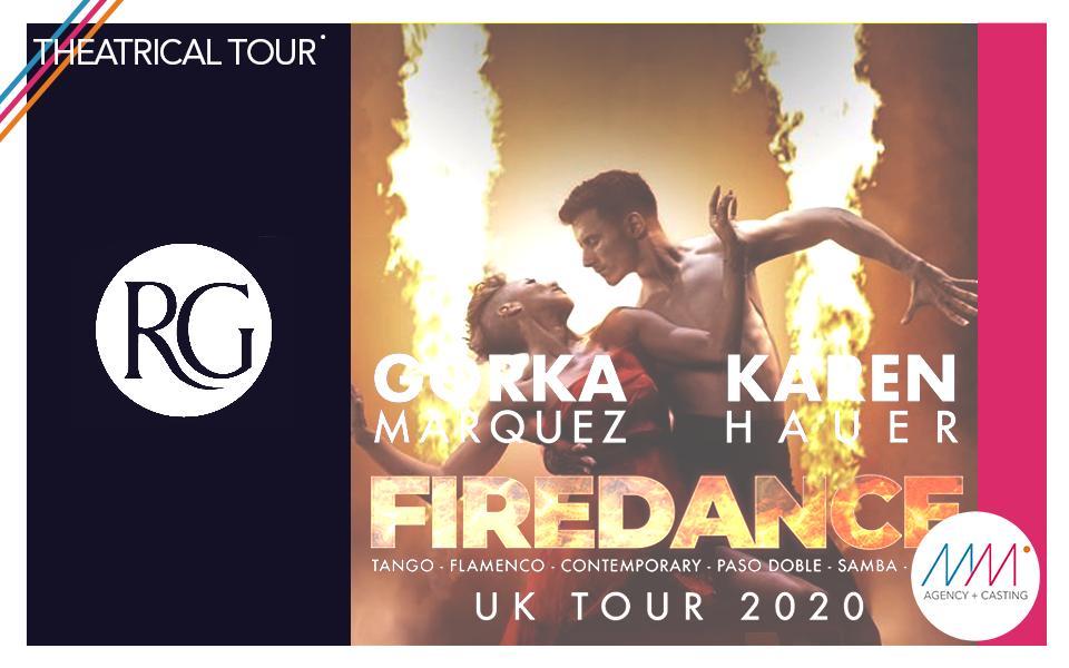 #theatricaltour | Fire Dance UK Tour X Raymond Rubbay