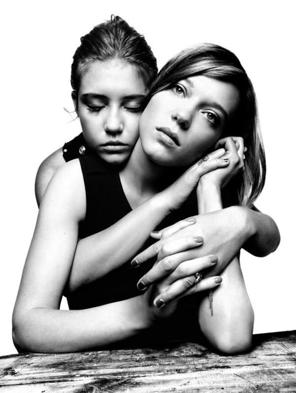 Adèle Exarchopoulos & Lea Seydoux