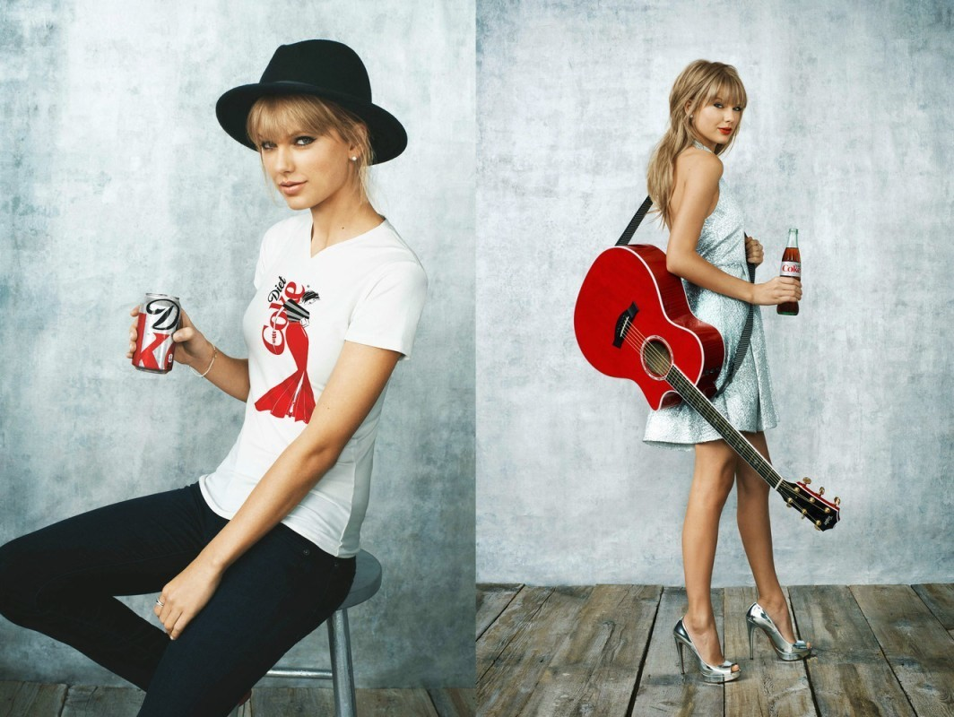 Taylor Swift for Coca Cola