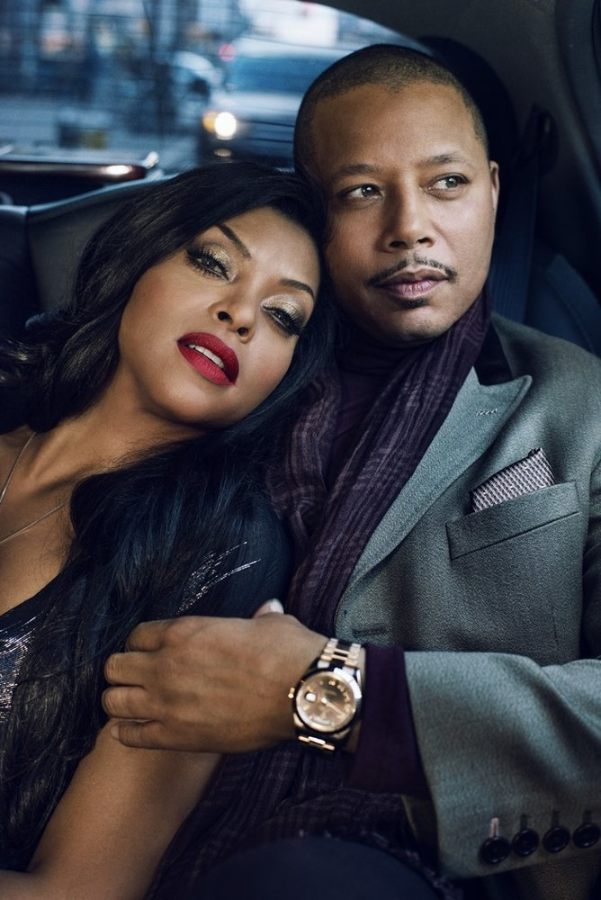 Taraji P. Henson & Terrence Howard
