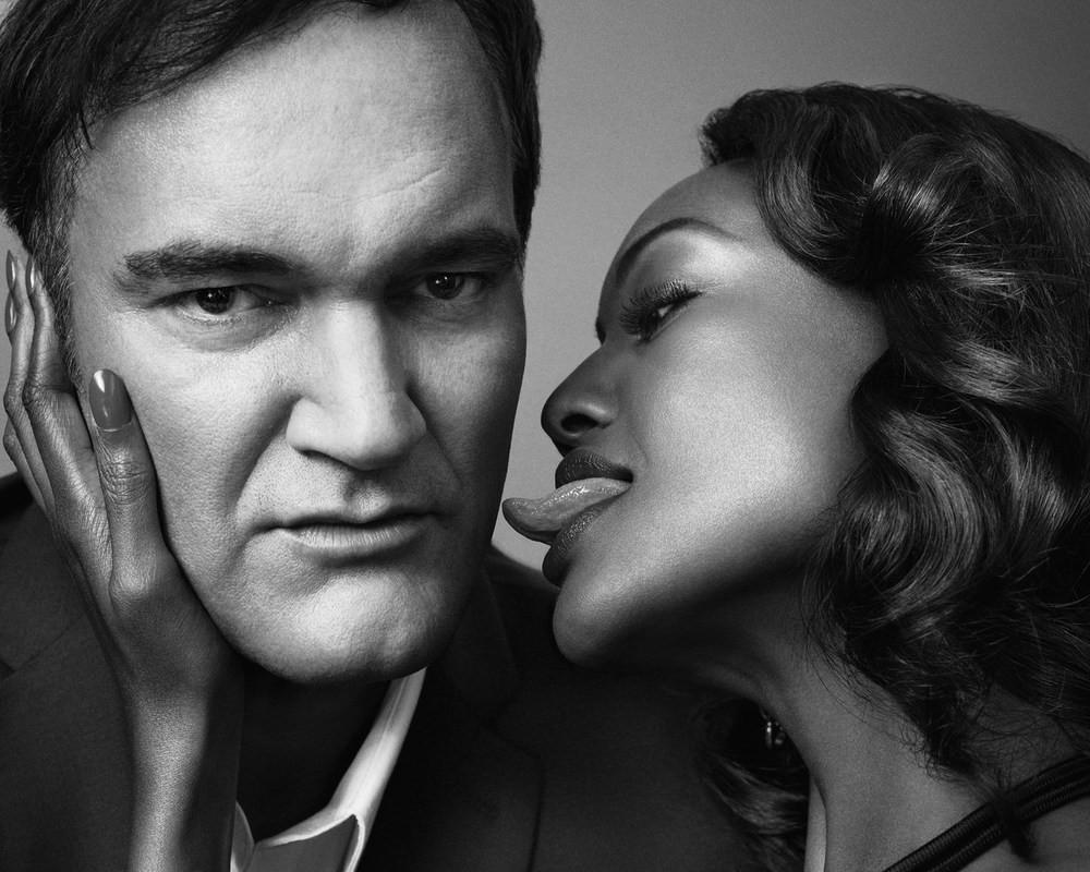 Quentin Tarantino & Nichole Galicia