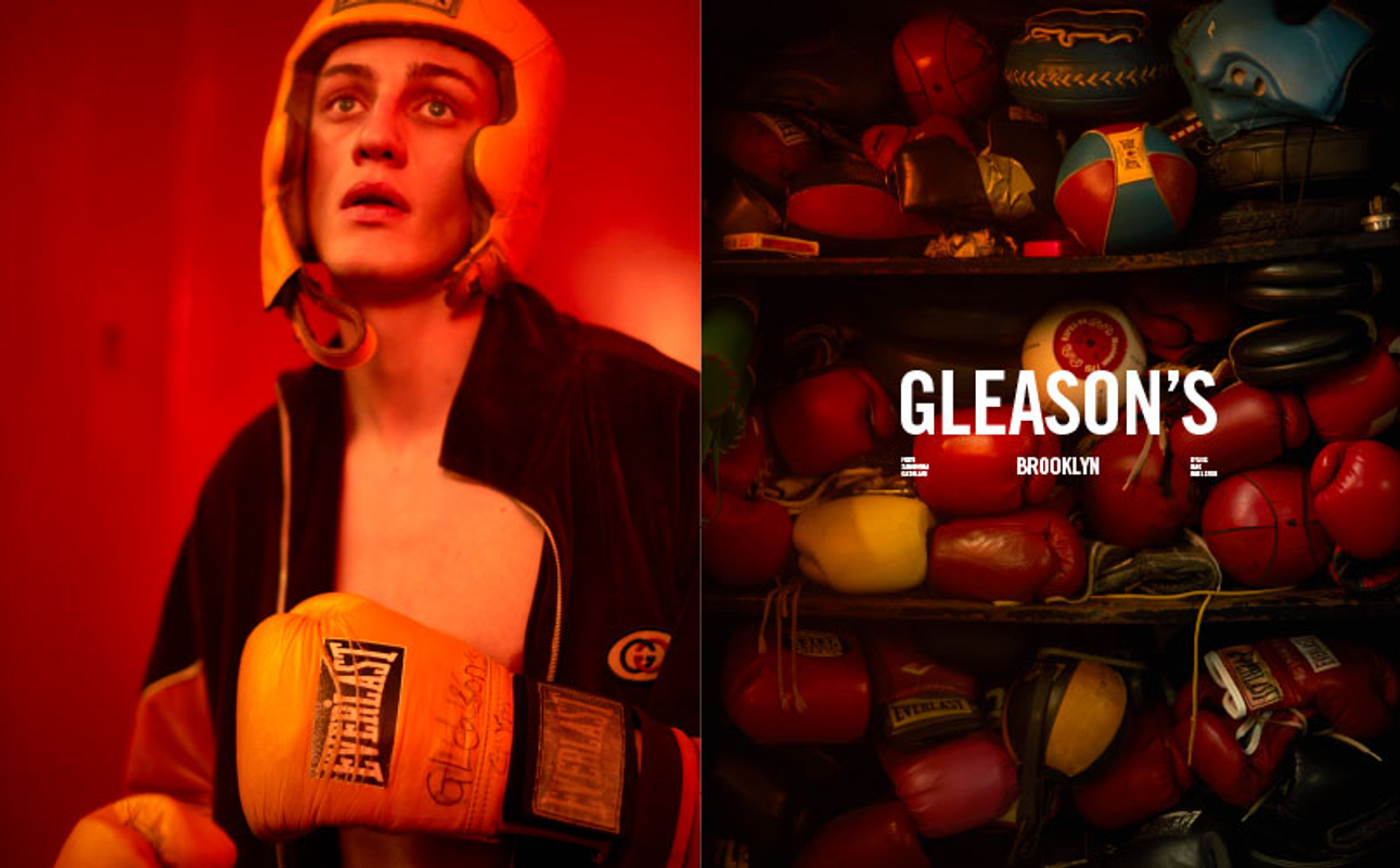 GLEASON'S GYM FOR ICON MAGAZINE