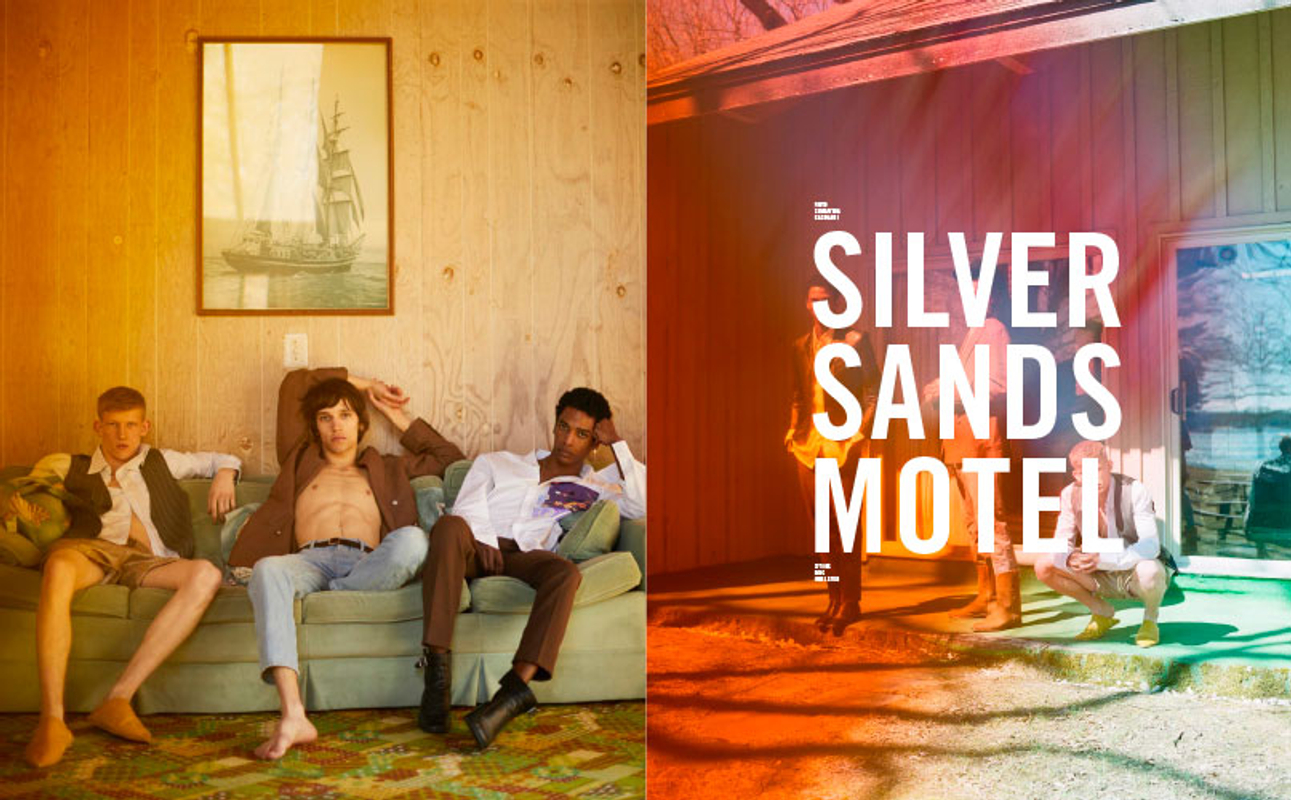 SILVERSANDS MOTEL FOR ICON MAGAZINE