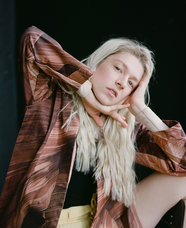 Celeste Sloman Photographs 'Euphoria' Star Hunter Schafer for the New York Times