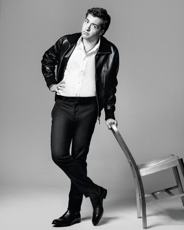 Marco Grob Photographs Michael Gandolfini for Esquire