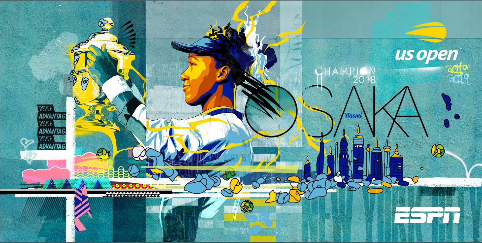 U.S. Open Promotional Posters by Matt Taylor