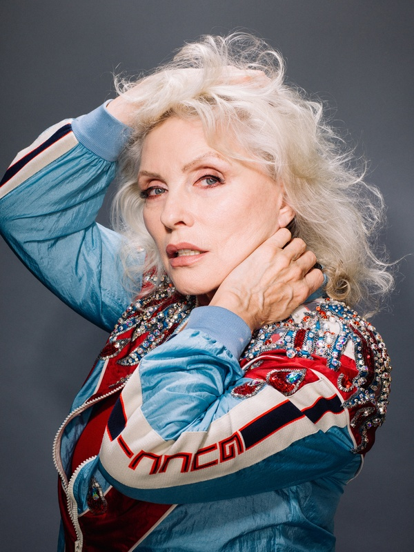 Celeste Sloman Photographs Debbie Harry for the New York Times