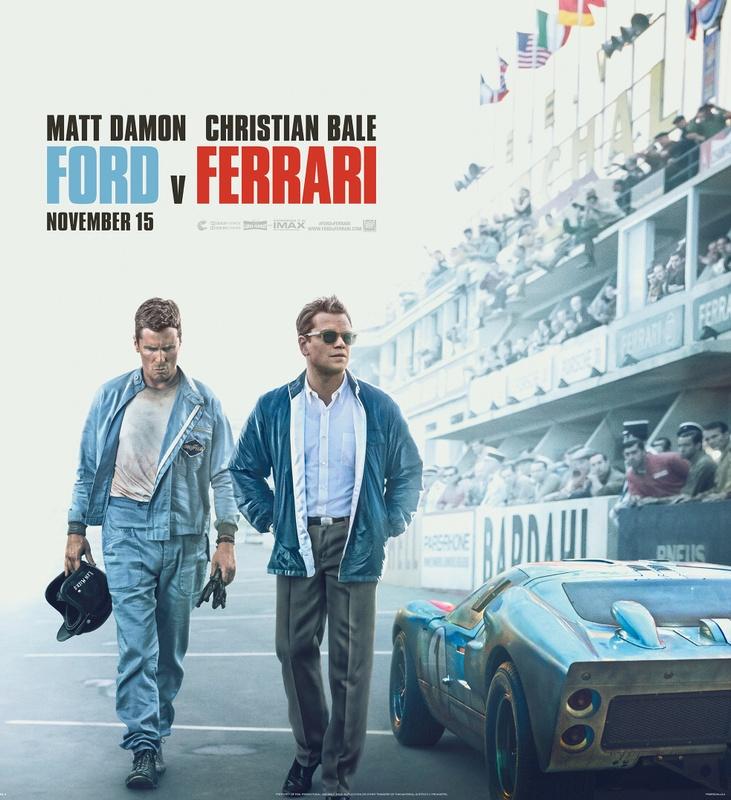 Marco Grob Shoots Poster Art for 'Ford v Ferrari,' Featuring Christian Bale and Matt Damon