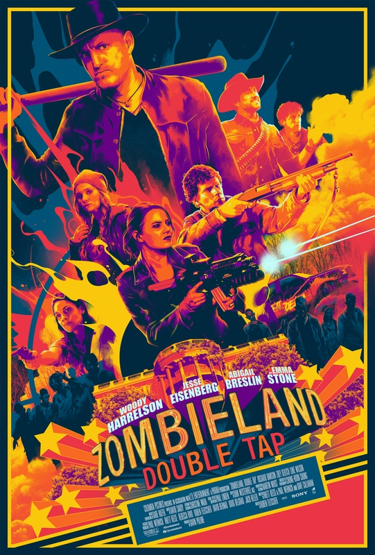 Matt Taylor Creates Poster Art for Zombieland: Double Tap