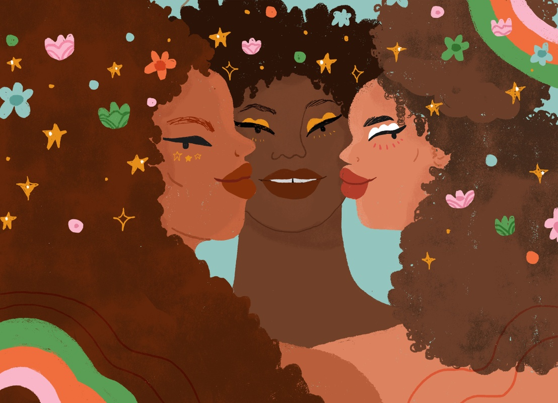 Loveis Wise Illustrates Exclusive Artwork for Birchbox Collaboration with Refinery29 Unbothered