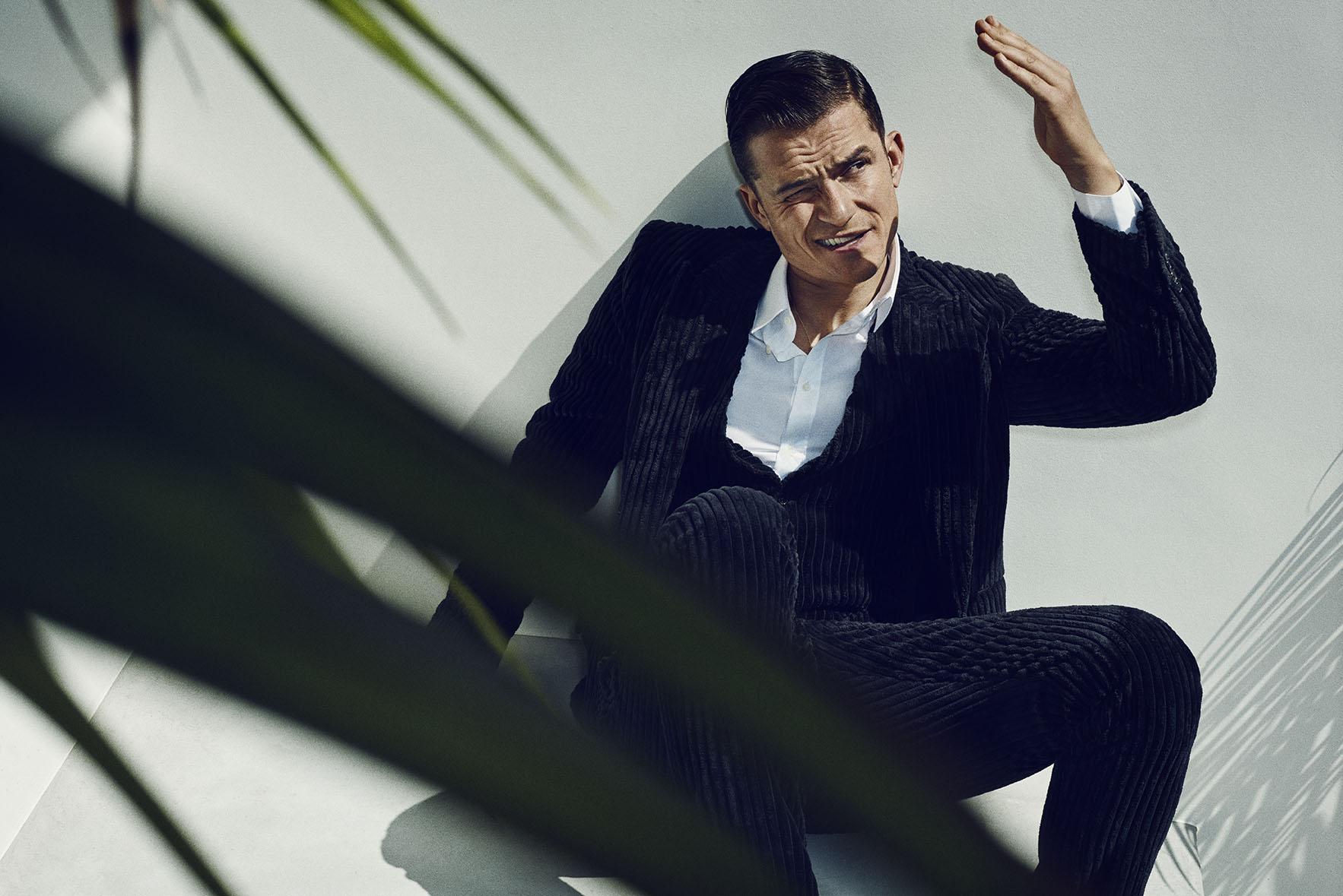 Marc Hom Shoots Orlando Bloom for GQ Spain