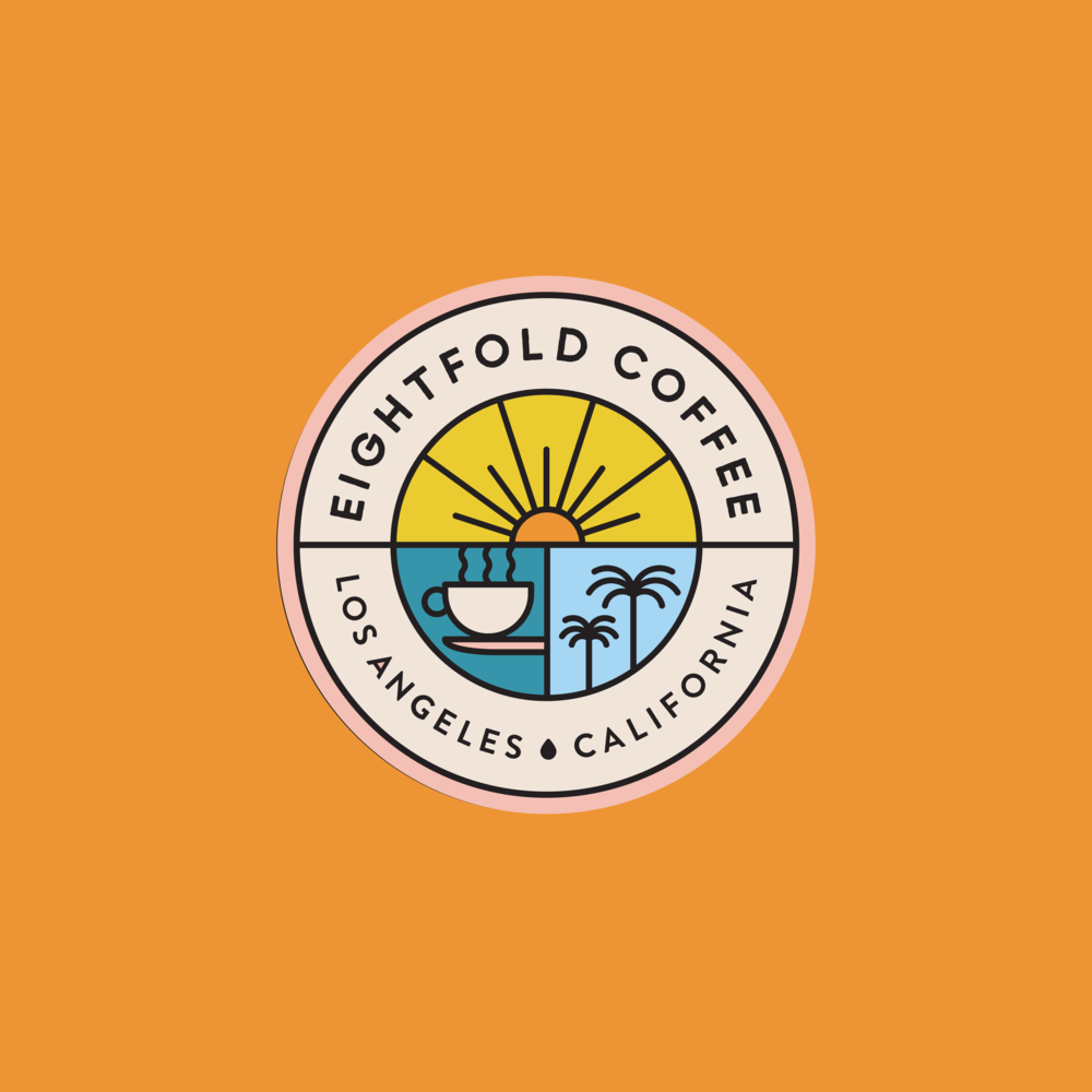 Studio Number One Designs New Logo for Eightfold Coffee