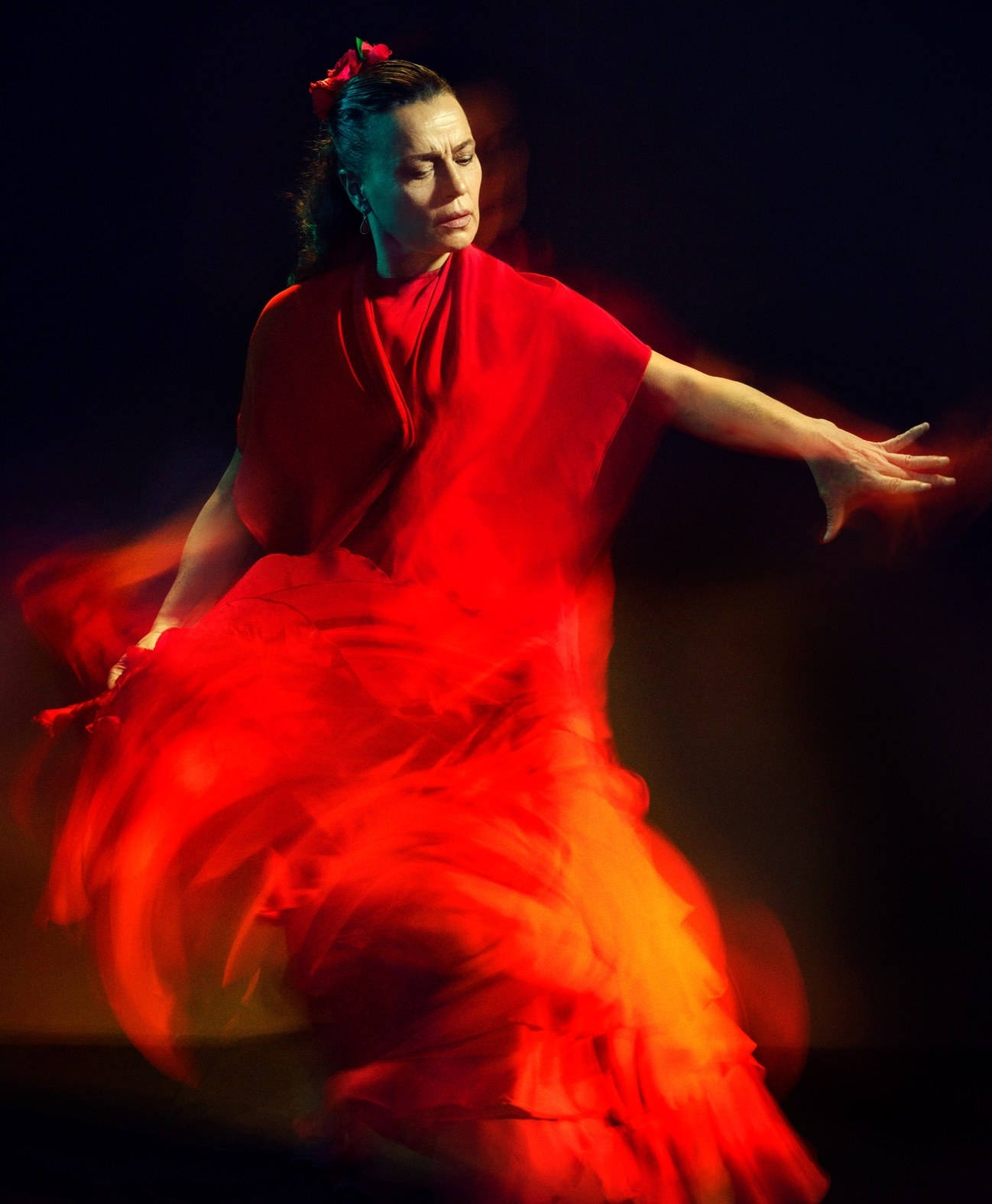 Pari Dukovic Captures Flamenco Dancer Soledad Barrio for The New Yorker