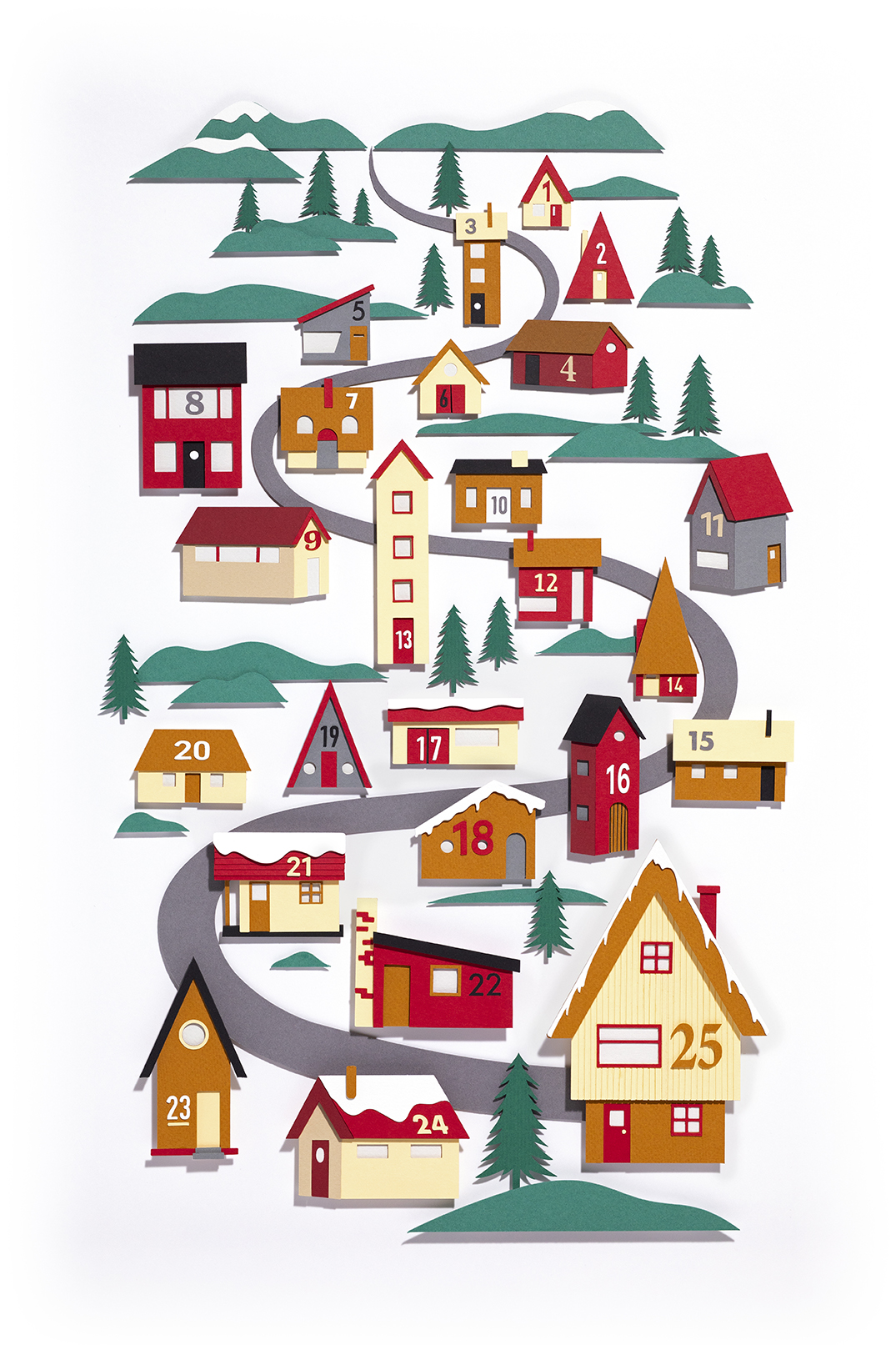 Kyle Bean Designs Advent Calendar for Gift Now and The Foundry