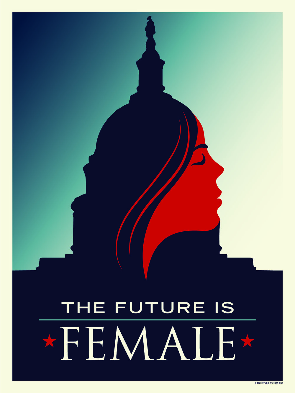 2020 Women's March Poster Art Designed by Studio Number One