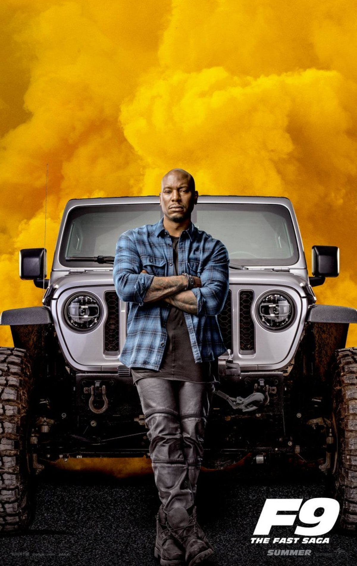 Marco Grob Photographs Poster Art for Fast & Furious 9