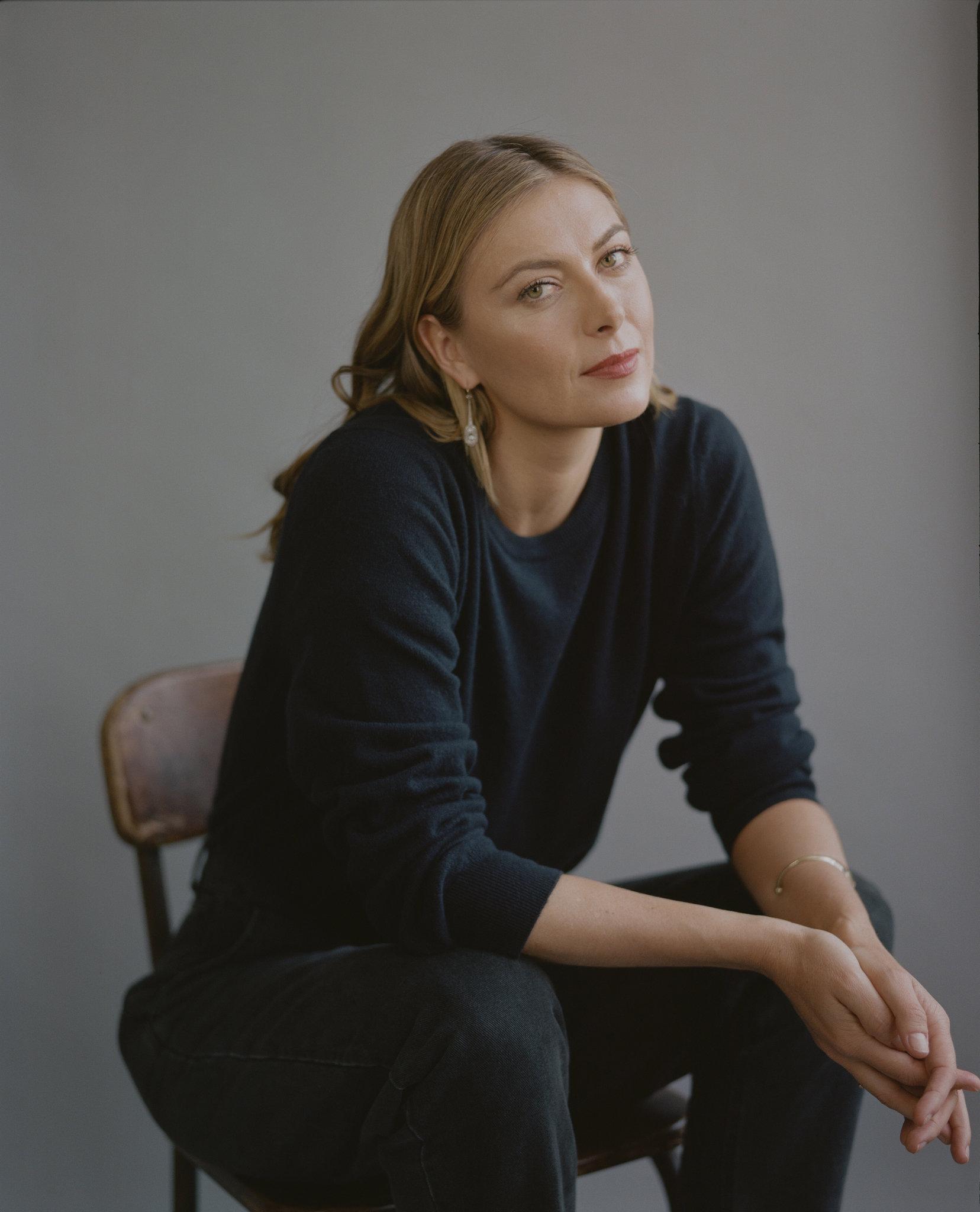 Celeste Sloman Photographs Maria Sharapova for The New York Times