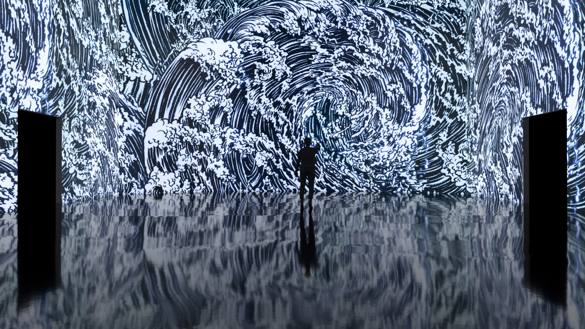 Yuko Shimizu Partners with ARTECHOUSE DC for a Cherry Blossom Installation Experience