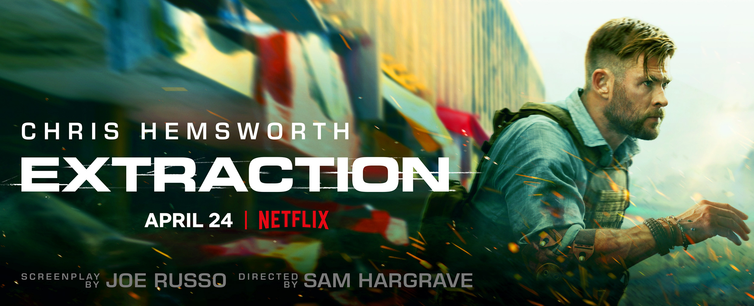 Marco Grob Shoots Poster Art for New Netflix Release 'Extraction'