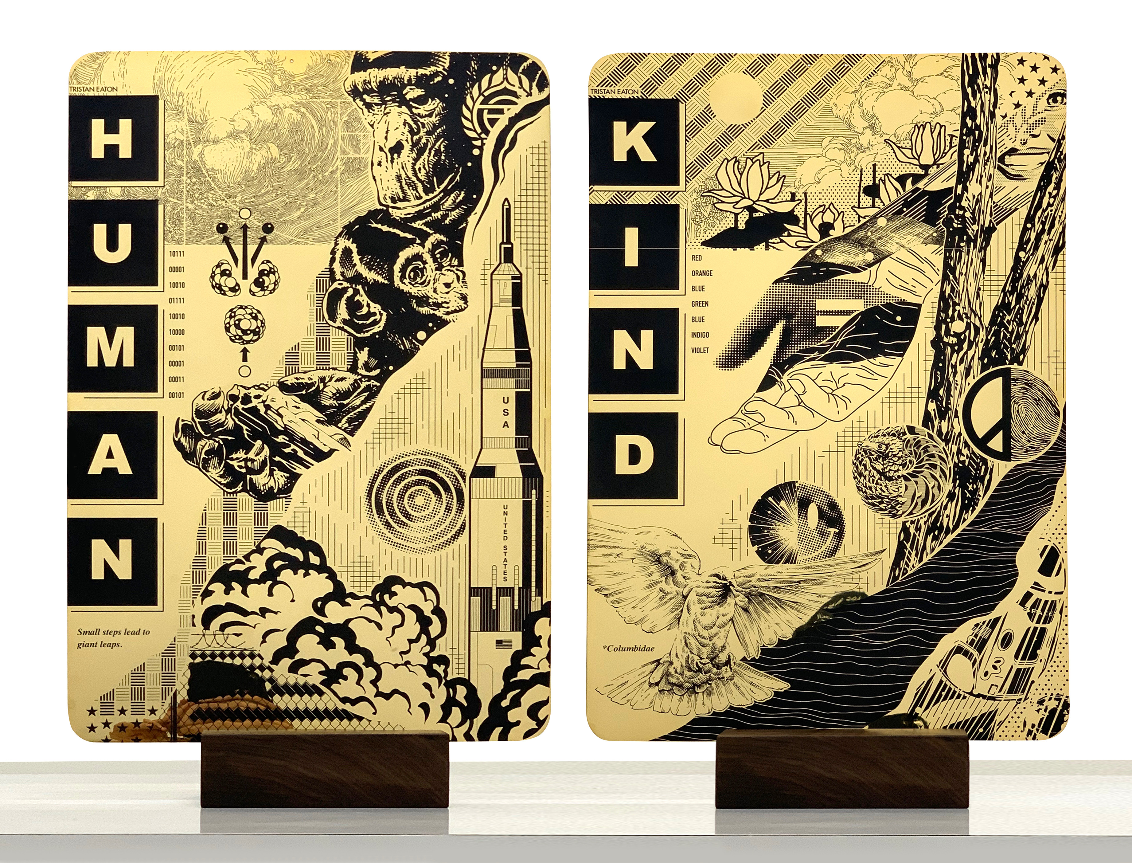 Tristan Eaton Partners with SpaceX and NASA to Launch Art into Space