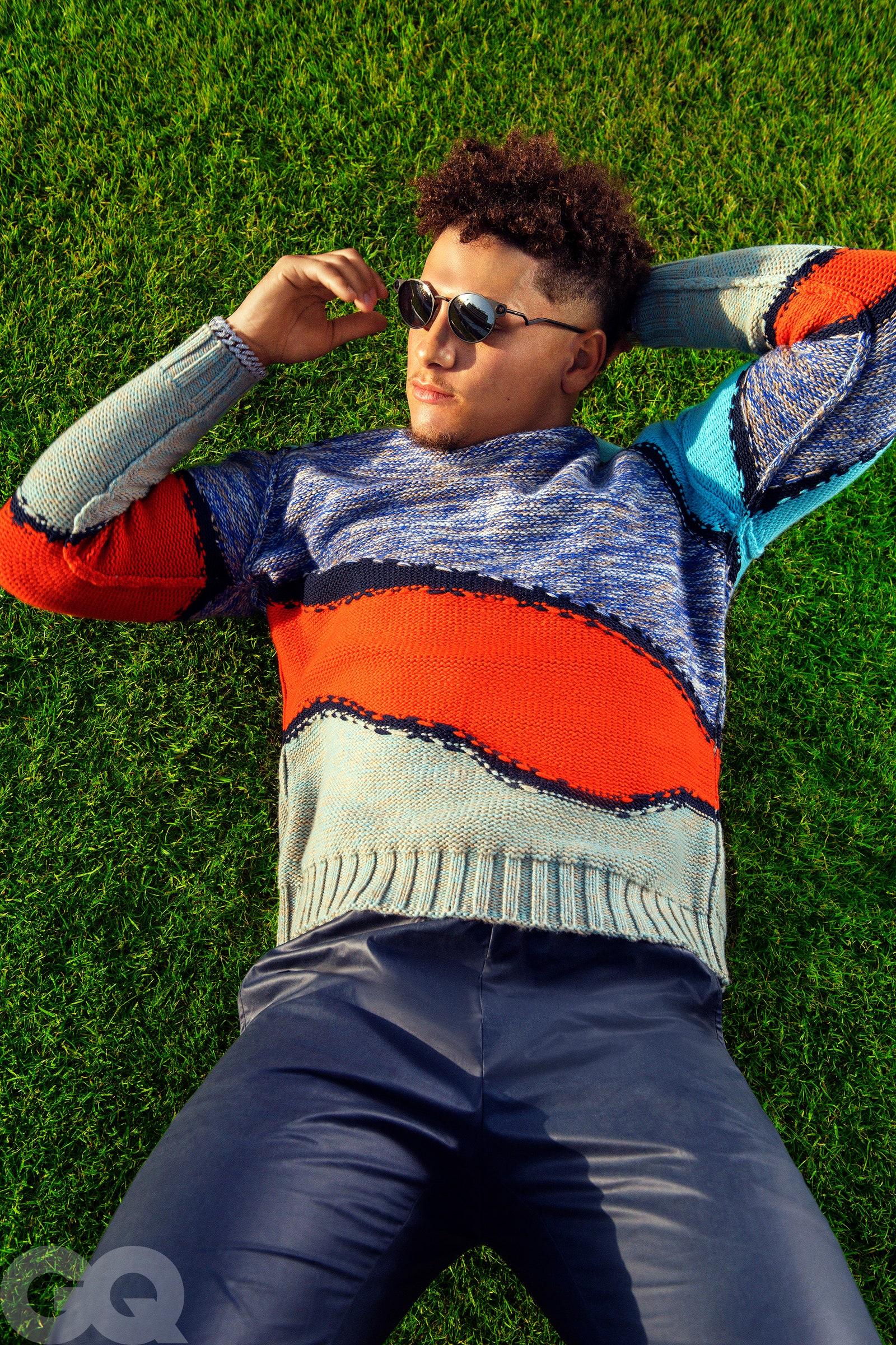 Pari Dukovic Photographs Patrick Mahomes for GQ