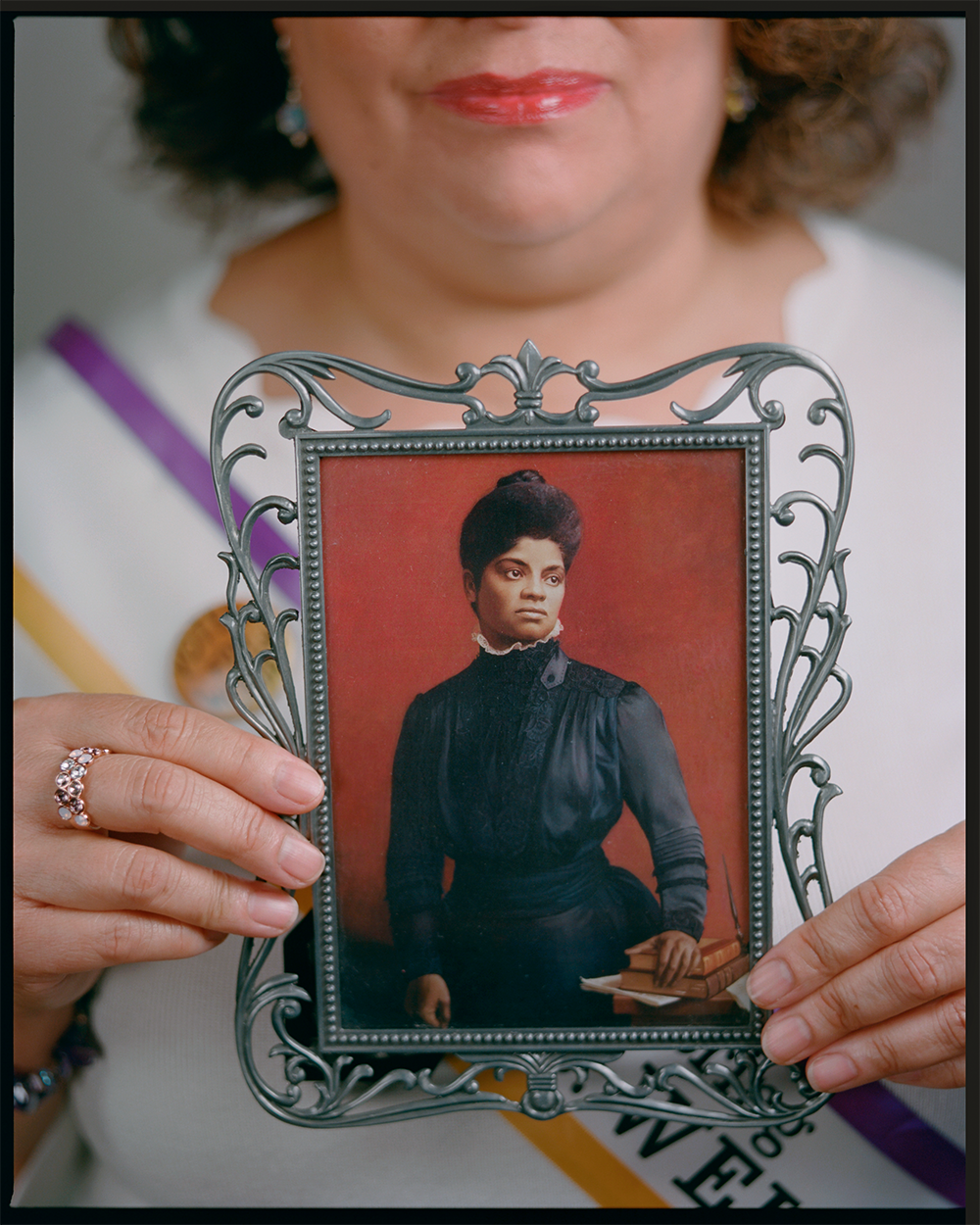 Celeste Sloman Photographs Women's Suffrage Feature for National Geographic