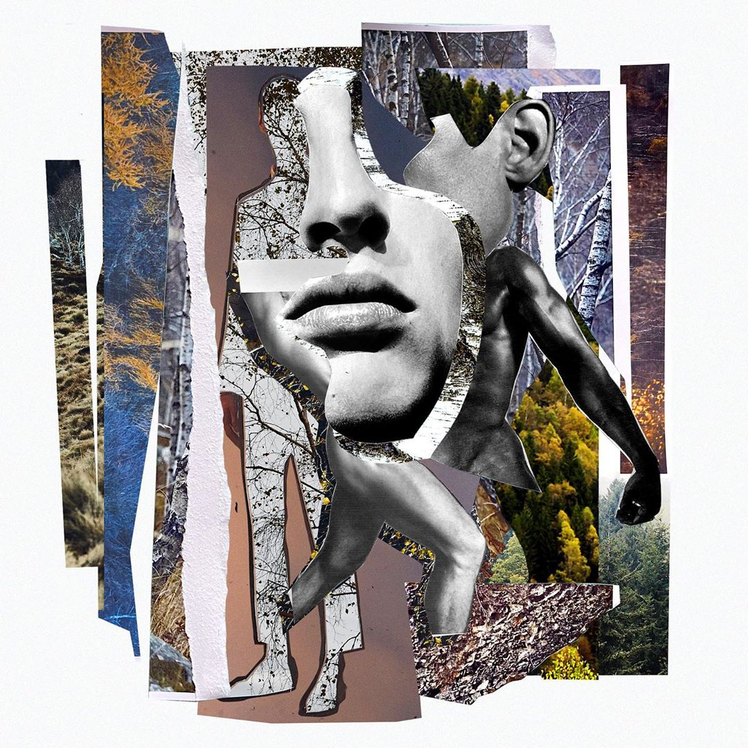 Alice Isaac Commissioned by Ermenegildo Zegna for 110th Anniversary Collage